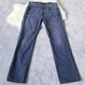 Lucky Brand 363 Vintage Straight Grey Jeans